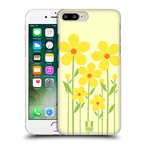 Head Case Designs Boccioli Falsi Fiori Romantici Cover Retro Rigida per Apple iPhone 7 Plus / 8 Plus