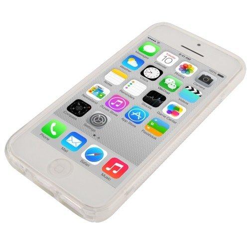 Housse Coque en TPU pour téléphone portable Apple iPhone 5C Transparent