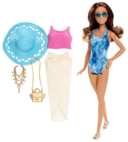 Barbie Glam Vacation Doll, Tie Dye One Piece