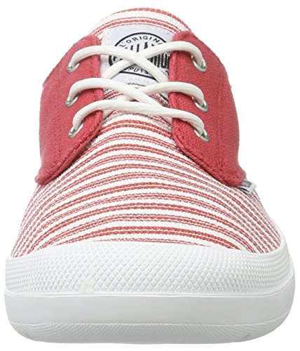 Rose Basses Cranberry White Palladium Femme Voyage Deauville Sneakers wXxEcUgIqv