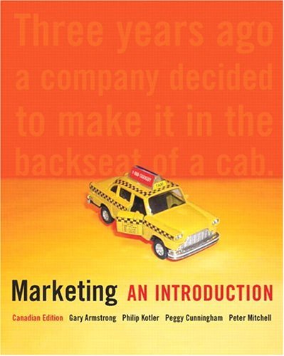 Marketing: An Introduction, Canadian Edition