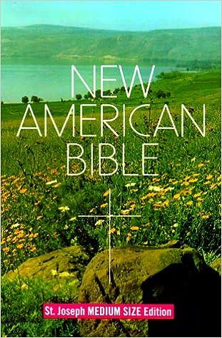 new american bible st joseph edition