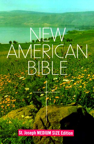 New American Bible, St. Joseph Medium Size - Outlet Louis St In New Mall