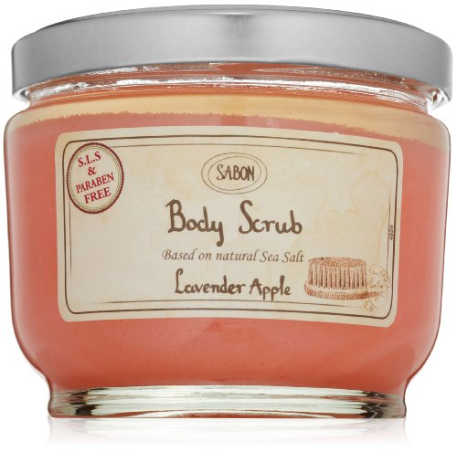 SABON Body Scrub, Lavender Apple, 21.2 oz.