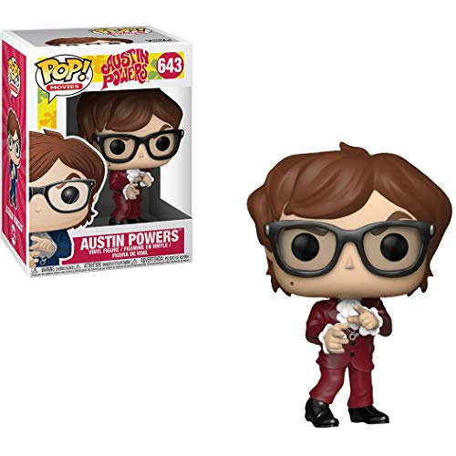 Funko Austin Powers (GameStop Exclusive) POP! Movies Vinyl Figure & 1 POP! Compatible PET Plastic Graphical Protector Bundle [#643 / 34995 - B]]()
