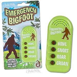 Archie McPhee Emergency Bigfoot Electronic Noisemaker