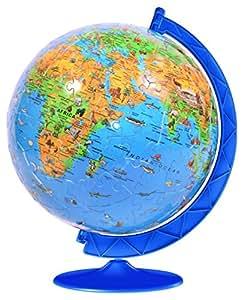 Ravensburger - Puzzle esférico (180 piezas), diseño del globo terráqueo