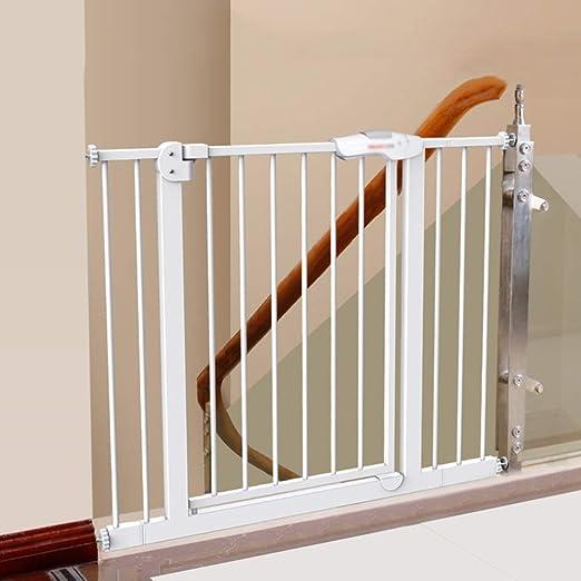 L.ORE Barrera de Seguridad para bebés, Bar, Valla de Escalera para bebés, Valla para Mascotas, Valla para Perros, Puerta de Aislamiento para Poste (74-84 cm): Amazon.es: Hogar