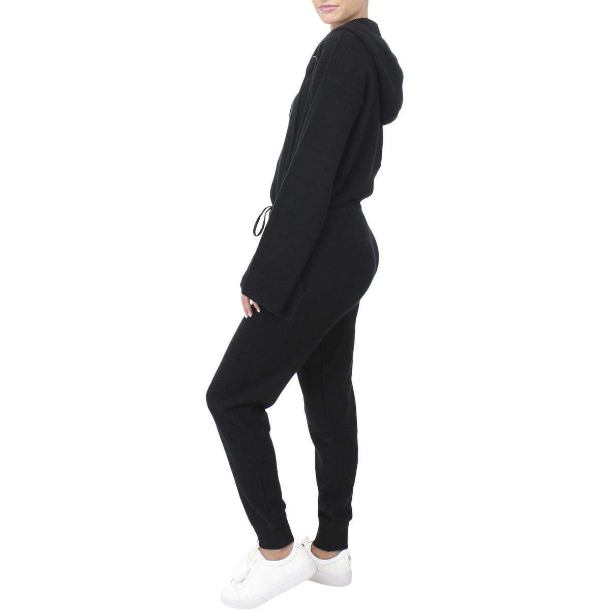 60ada8cac15 Juicy Couture Black Label Womens Cashmere Hooded Jumpsuit Black XS  Amazon. co.uk  Clothing