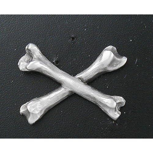 Cross Bones 1 Lapel Pin