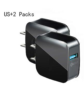 ZUZU Caja de Carga USB, Adaptador de Cargador, Enchufe de ...