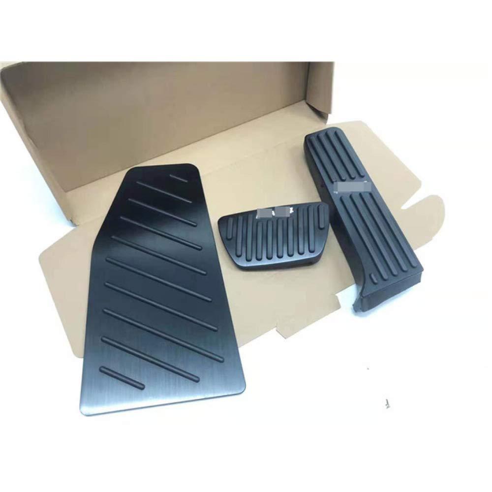 SBCX F/ür Toyota RAV4 RAV 4 2019 2020 Aluminium Auto Gaspedal Bremspedal 3 st/ücke Fu/ßst/ütze Pedalplatte Abdeckung