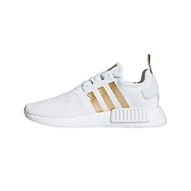 03e8ccc3ca17c Amazon.com | adidas Women's NMD_R1 W, Footwear White/Gold, 7 US ...