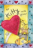 """Crunchkins – """"To Kitty With Love"""" Catnip Toy Card, My Pet Supplies"""