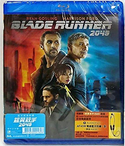 Blade Runner 2049  Region A Blu Ray   Hong Kong Version   Chinese Subtitled      2049