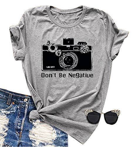 Never Lose Focus Shirt Women Camera Graphic Cute...