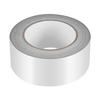 25m x 5cm Aluminium Foil Tape Roll Self Adhesive Heat Insulation Adhesive Tapes