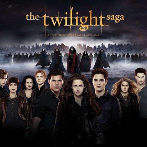 The Twilight Saga Breaking Dawn 2014 Calendar