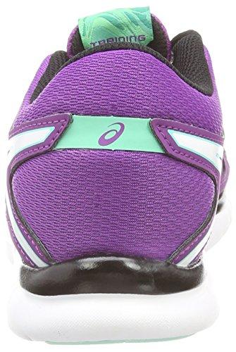 Asics Gel-Fit Tempo 2, Women's Running Shoes Purple (Grape/White/Aqua Mint 3601)