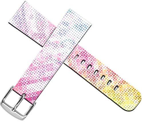 Designer Pattern Band (Bands For Iwatch Band 38mm - ENDIY Compatible Designer Fashionable Strap Replacement For Apple Watch Series 1/Series 2/Series 3 - Nice Dots Pattern and I Like It)