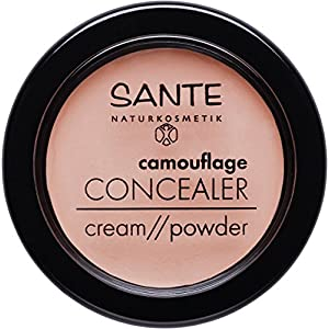 Sante Naturkosmetik Camouflage Concealer Cover Vegan Organic Extracts Natural Make-Up 2x 3 g