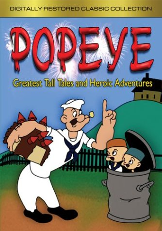 Popeye's Greatest Tall Tales & Heroic Adventures -