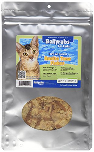 Bellyrubs 1-1/4-Ounce All Natural Cat Treats, Bonita