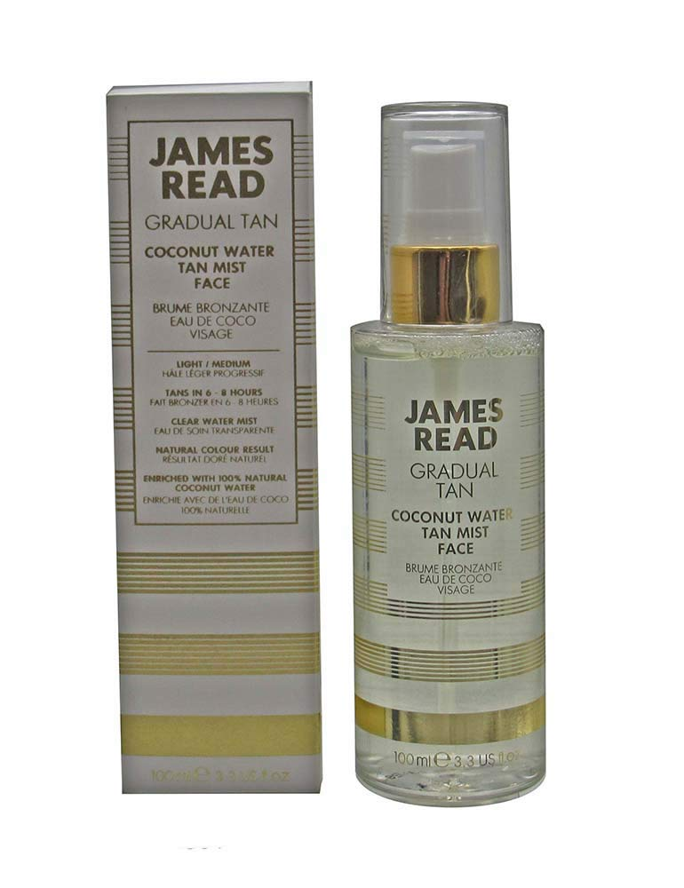 James Read Tan Coconut Water Tan Mist Face Light/Medium by James Read
