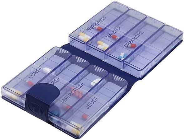 Medimax - Cartera con pastilleros por día: Amazon.es: Salud y cuidado personal