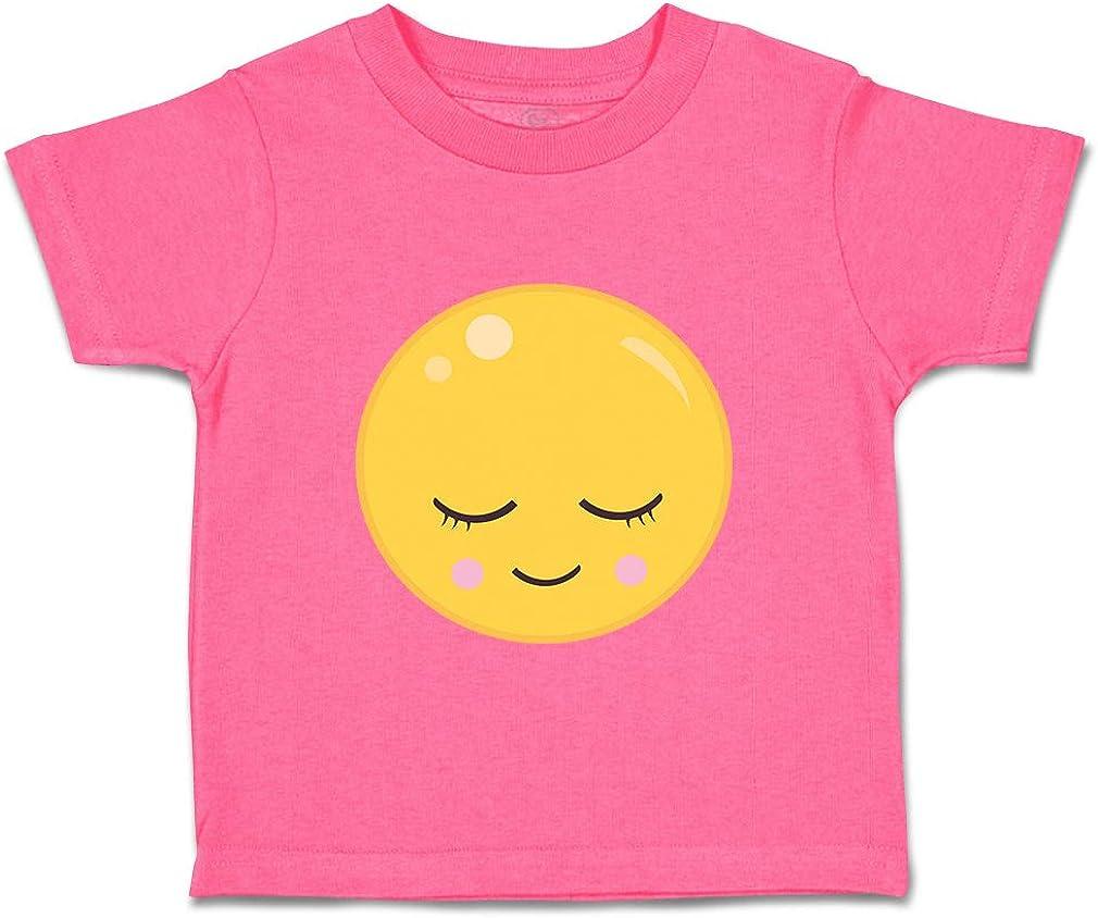 Custom Baby /& Toddler T-Shirt Smile Close Eyes Cotton Boy Girl Clothes