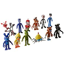 Fnaf Five Nights at Freddy's Action Figures Toys Dolls 12PCS/Set, 4 INCHES HT