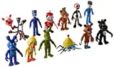 Generic Fnaf Five Nights at Freddy's Action Figures Toys Dolls (12 Piece), 4""
