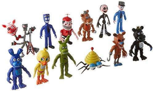 "BIGOCT Fnaf Five Nights at Freddy's Action Figures Toys Dolls (12 Piece), 4"""