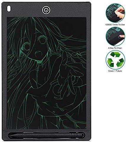 LKJASDHL 8.5インチラップトップ用デジタルライティングパッドLCDタブレット子供の知能早期教育学習グラフィティライティングボード描画ライティングメッセージボード (色 : 黒)