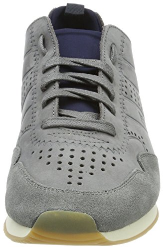 Medium Runn Sneakers Basses Grey BOSS nuun1 Homme Gris Adrenal Wq6w4405PU