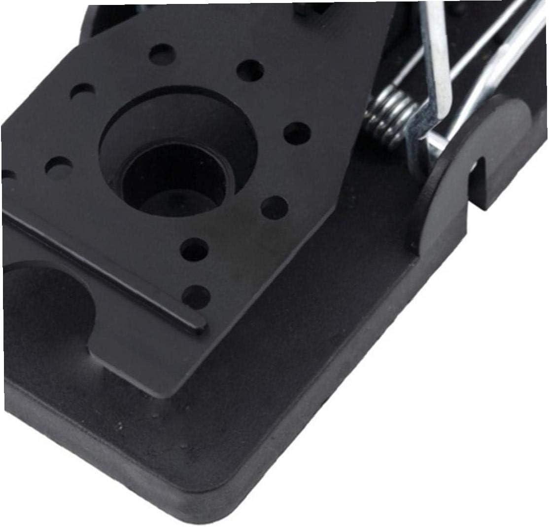 Mousetrap M/äusefalle die Arbeit sofort Quick Response Wiederverwendbare Rat Trap Kunststoff Pedal Mausefallen Easy Mouse Fangen F/änger Gelb Schwarz 6pcs