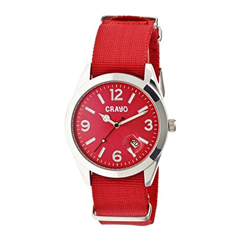 crayo-cr1703-sunrise-watch-red