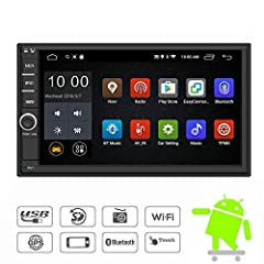 Free rear camera and external microphone are included!!!General:Operating system:Android 6.0 system7 inch HD capacitive touch screen High reselution:1024*600pUSB:2 channels,up to 32GTF card :1 channel,up to 32GMulti-languageBrightness ...