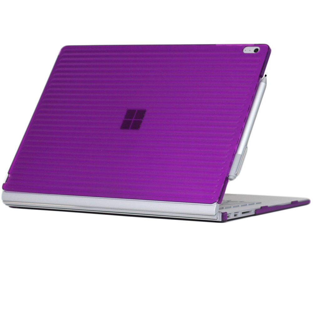 iPearl mCover Hard Shell Case for 13.5-inch Microsoft Surface Book Computer (Purple)