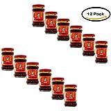 PACK OF 12 - Laoganma Spicy Chili Crisp Sauce, 7.41 Fl Oz