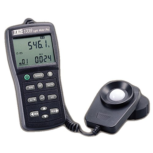 TES 1339P Data Logger Light Quantum Meter - Incidence Meter