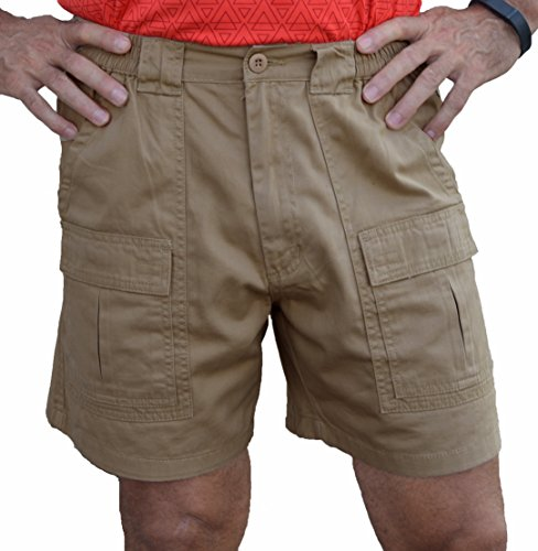 Trod Cargo Short Khaki 36 (A-line Cotton Shorts)