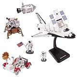 #8: InAir E-Z Build Model Kit - (2 Pack - Space Shuttle & Lunar Rover)