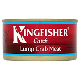 Kingfisher Whole Lump Crab Meat in Brine (170g) - Pack of 2
