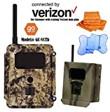 Spartan HD AT&T or VERIZON GoCam (2-year warranty) with FREE Security Box & FREE 6+1 Premium Microfiber Towels (Connected by Verizon, Blackout Infrared, Model#GC-VCTb)