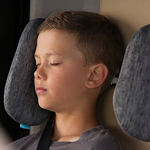 Cardiff Travel Headrest, The Best Neck Support Solution For Kids And Adults. Patented Product.