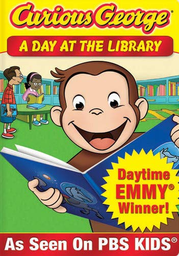 Curious George: A Day at the Library -