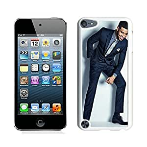 Newest iPod Touch 5 Case ,Stylish Drake White iPod Touch 5 Screen Case Unique And Durable Custom Designed Cover Case
