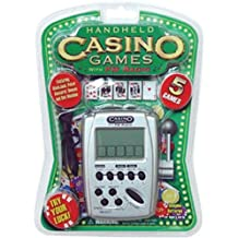 Casino 5 Games Hand Held Electronic Game with FM Radio