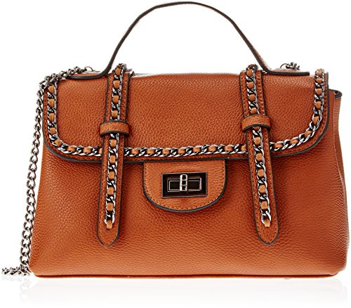 Swankyswans Quincy Mini Satchel Bag, Sacs bandoulière Marron (Tan Brown)